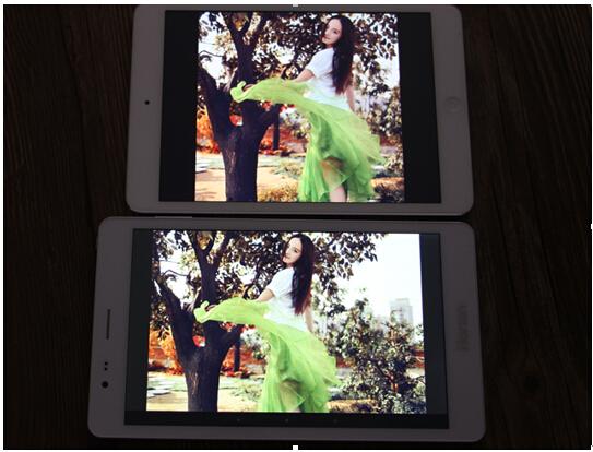 皓丽H8 VS iPad mini对比评测