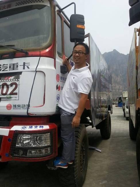 2014全国卡车大赛涞水战群雄争霸