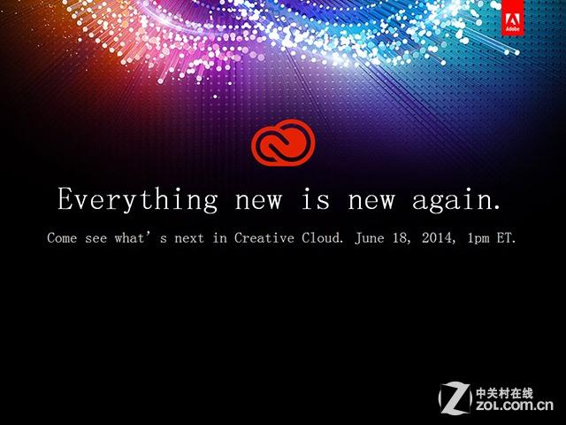 新一代Adobe CC系列软件将于6月18日发布