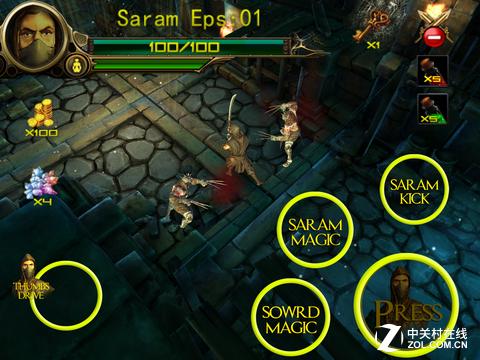 地牢练剑只为寻剑 《莎拉之剑》评测