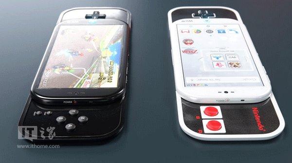 任天堂概念手机曝光 这回能玩的爽了