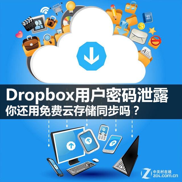 Dropbox遭泄密 你还敢用云存储同步吗?