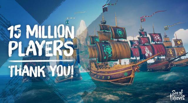 盗贼之海玩家突破 1500 万