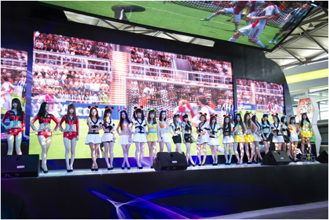 ChinaJoy2014开幕 ROG游戏硬件闪耀全场