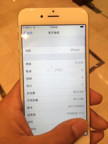 摄像头凸起无悬念 曝最新iPhone6真机图