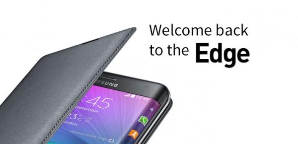 双弧面屏幕? 曝三星GALAXY S6 Edge宣传图