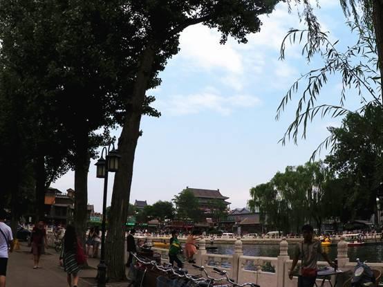 酷热来袭 Mini X实拍后海消夏音乐