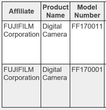X-E3+X-T2S? 富士在国内注册两款新机