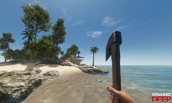 游戏中玩家扮演的倒霉主角因为飞机失事漂到了一座孤岛上,如果说