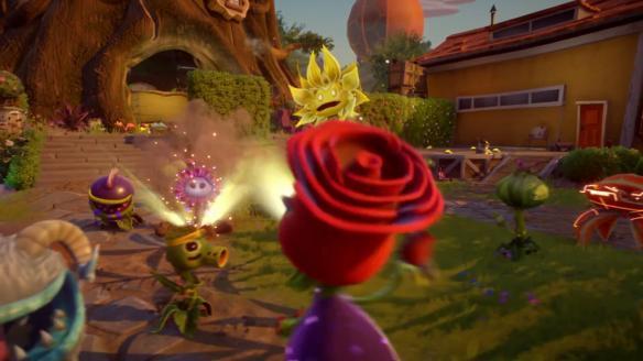 植物大战僵尸花园战争2玫瑰技能玩法