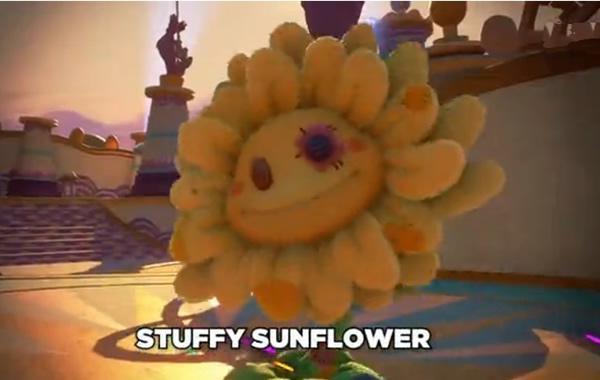 PVZ花园战争2填充向日葵