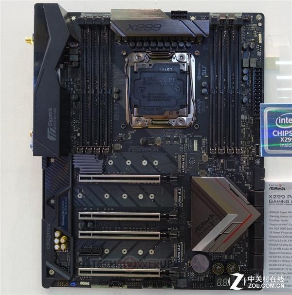 华擎顶级X299主板台北现身:连发三款