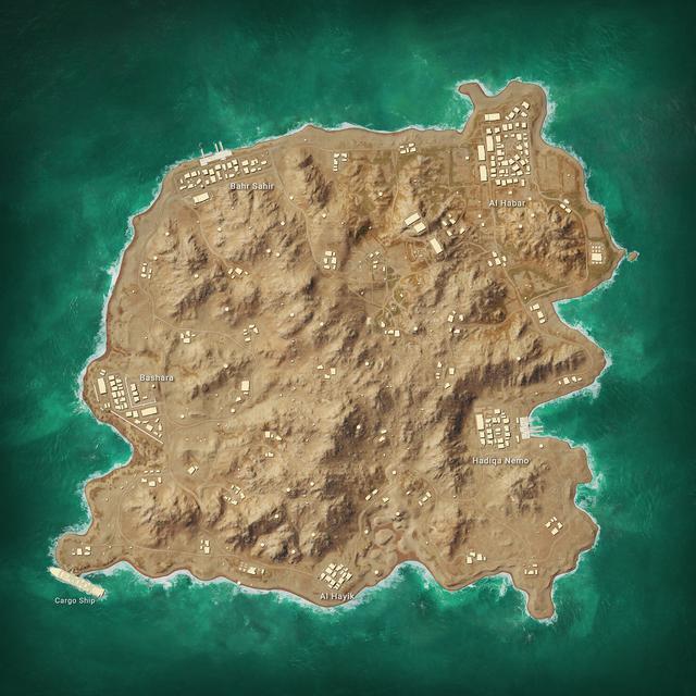 絕地求生將在過年前后上線新地圖卡拉金