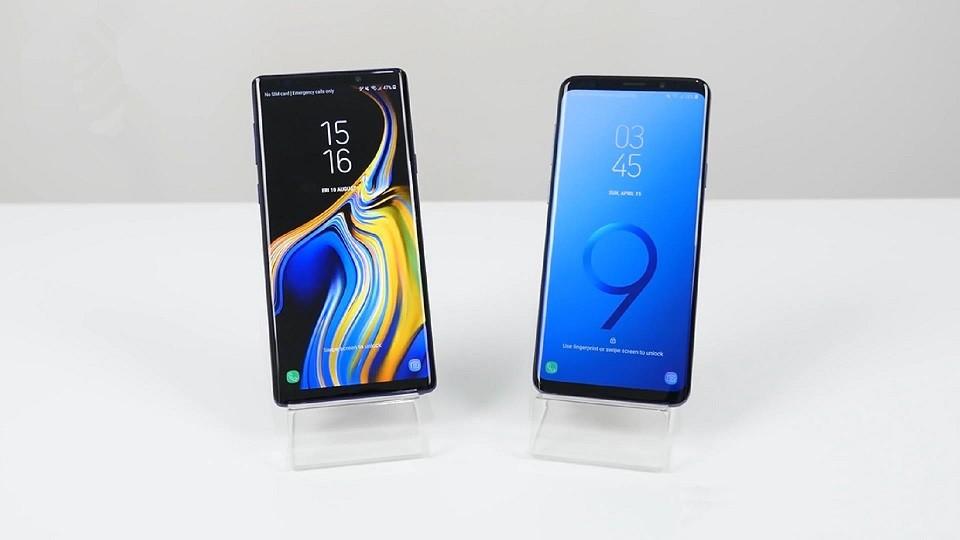 三星Note9和S9+这两部旗舰手机到底如何选择?