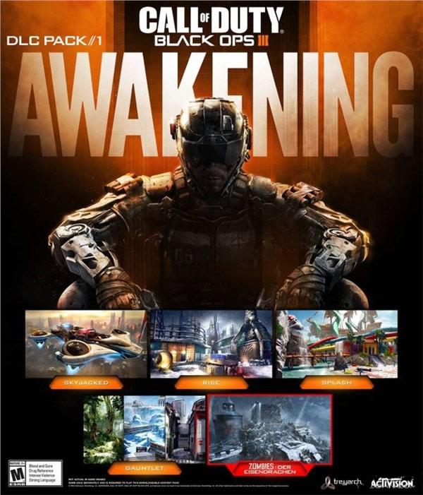 使命召唤12首个DLC觉醒 含4张新地图