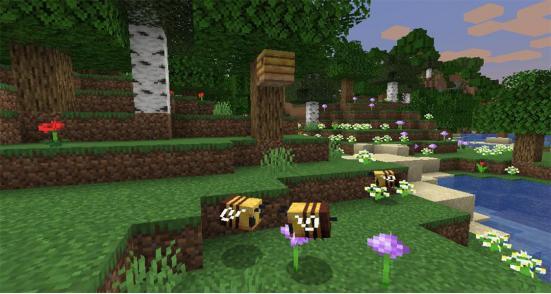 我的世界暑期更新,蜜蜂来袭