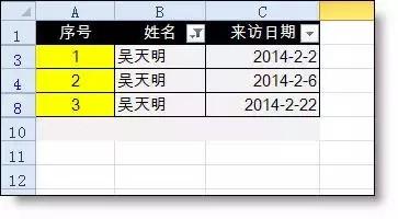 3 个常用的 Excel 筛选问题
