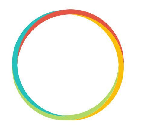 PPT 中如何设计四色环