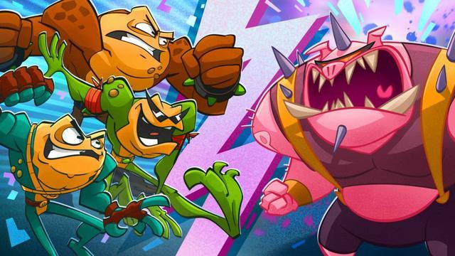经典 IP《忍者蛙》将于 8 月 20 日发售