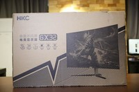 更快更流畅 165Hz刷新率HKC GX32显示器