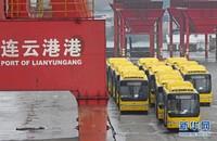 中国客车出口缅甸 缅甸定制版踏上海上丝绸之路