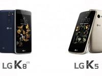 主打入门级市场 LG K5/K8或本周发售