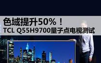 110%色域 TCL TV+量子点电视9700测试