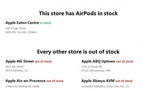 全球零售店就一家现货 AirPods太受欢迎
