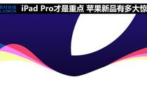 iPad Pro才是重点 苹果新品有多大惊喜?