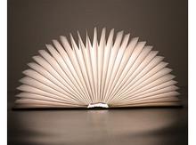 可折叠创意LED书灯 能够像书一样开合