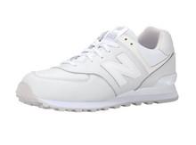 New Balance新百伦 ML574 复古跑鞋 全白配色