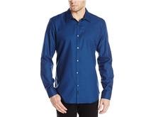 Calvin Klein Premium Yarn Dye 男士梭织衬衫  L码