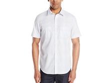 Calvin Klein 男士短袖衬衫 M码起