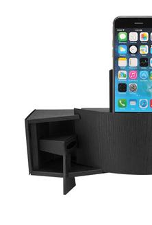 新奇配件 为iPhone DIY一个纸盒扬声器