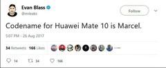 华为Mate10发布在即 售价不会高于三星Note 8