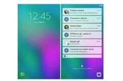 这就是未来!三星可折叠手机Galaxy X界面曝光