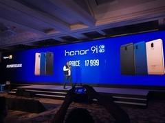 荣耀9i在印度发布:全面屏设计+四摄像头1800元