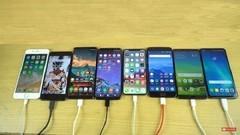 2017年八大旗舰手机PK续航 苹果输蒙圈了
