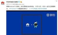 华为官方确认Mate 10系列搭载安卓8.0系统