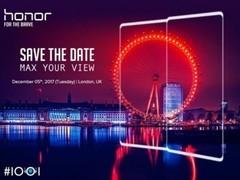 原来不止7X 荣耀V10也配全面屏或于12月伦敦发布