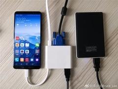 华为Mate10投屏功能:体验强大 手机一键变PC