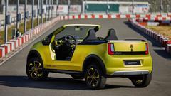都市小车变电动沙滩车 Skoda Element创意无限