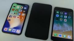 """国外小哥心灵手巧 iPhone X Plus""""真机""""上手"""