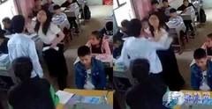 男生猛扇回击老师 学生打老师 网友:教师高危职业
