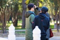 王凯故宫被偶遇 录制国家宝藏节目被拍