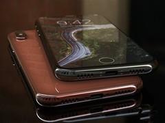 女粉必Buy!iPhone 8腮红金渲染图曝光