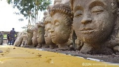 佛头建别墅被举报 佛头装饰围墙 泰国政府将拆除