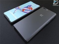 一加6概念手机曝光:又是梳着刘海的全面屏