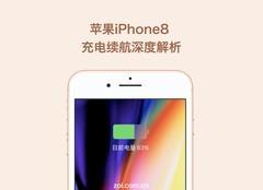 苹果iPhone8P连上快充,这速度惊呆了