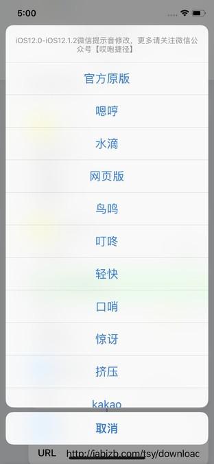 深圳IT网报道:巧用捷径 iPhone微信一键切换提示音